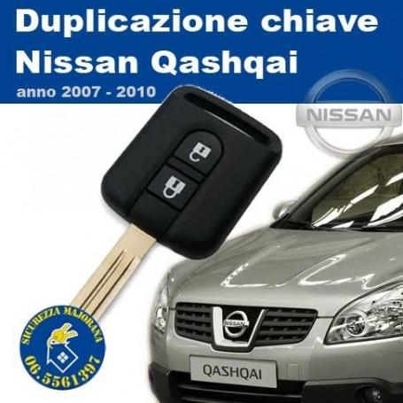 Key duplication Nissan Qashqai