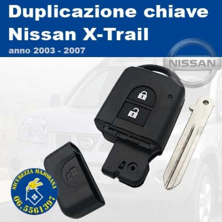 Key duplication Nissan X-Trail