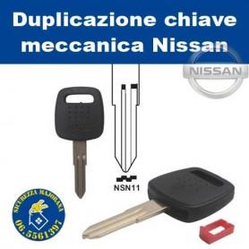 Duplicazione chiave Nissan meccanica