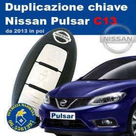 Duplicazione chiavi Keyless Nissan Pulsar C13