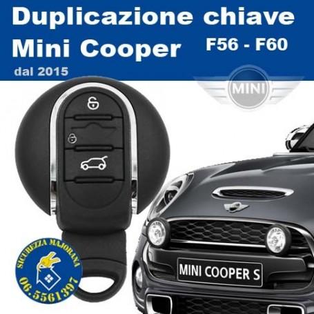 Duplicazione chiavi Mini F56 e F60