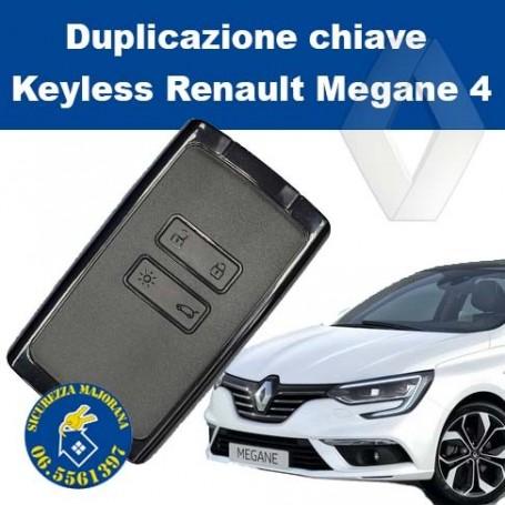 Keyless duplication Renault Megane 4