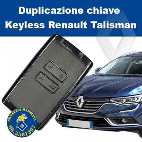 Duplicazione keyless Renault Talisman