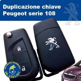 Duplicazione chiave Peugeot 108