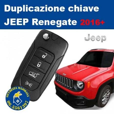 Duplication Keys Jeep Renegade from 2016+