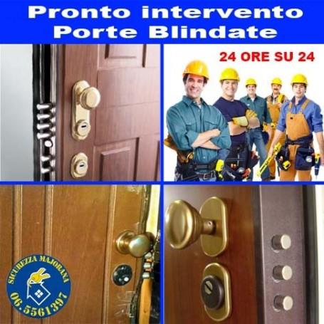 Rome emergency door intervention