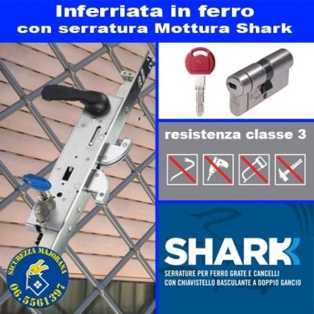 Safety grates with Mottura Shark lock