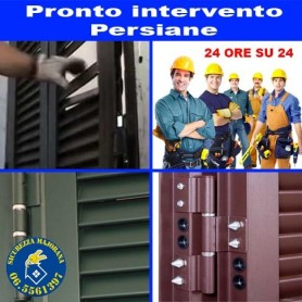 Pronto intervento persiane blindate