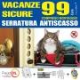 Safe holidays burglar lock