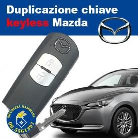 Duplicazione Chiavi Mazda keyless