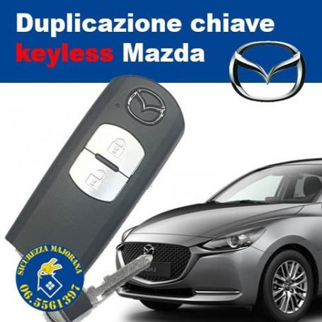 Duplication of Mazda keyless keys
