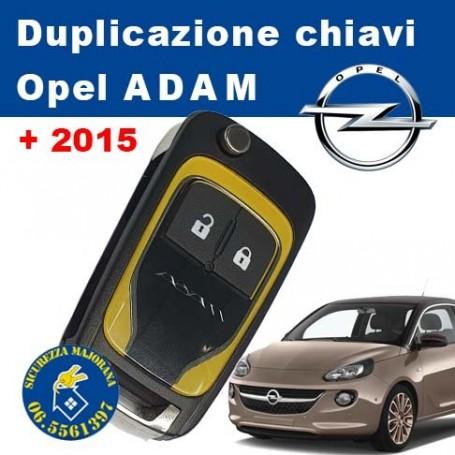 Opel Adam keys duplication from 2015
