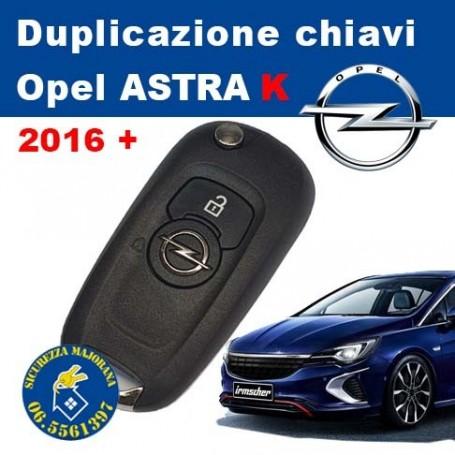 Key duplication Opel Astra K