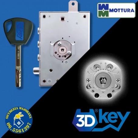 Serratura 3D Key Mottura