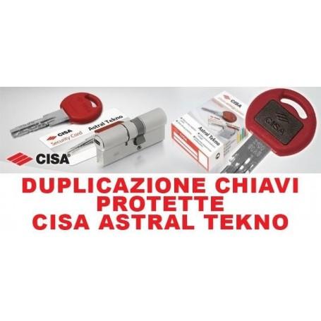 DUPLICAZIONI CHIAVI CISA  ASTRAL TECNO