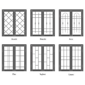 Inferriate e persiane - Inferriate di sicurezza per porte e finestre ...