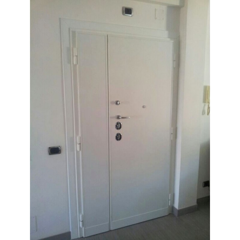 Porta blindata roma classe 5 for Porta doppia anta