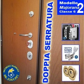 porta blindata 2 ante 2 serrature