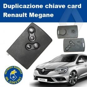 Duplicazione chiave card Megane