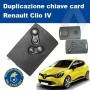 Duplicazione chiave card Clio IV