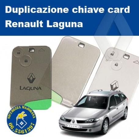 Duplicazione card Laguna Renault