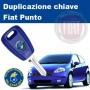 Duplicazione chiave Fiat Punto
