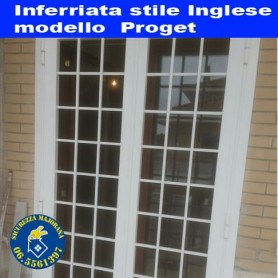 Inferriata stile inglese