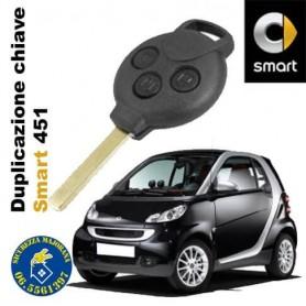 Duplicazione chiave Smart 451