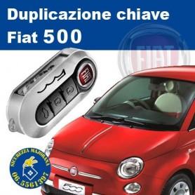 Duplicazione chiavi Fiat 500