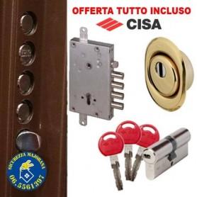 Cambio serratura Cisa antieffrazione