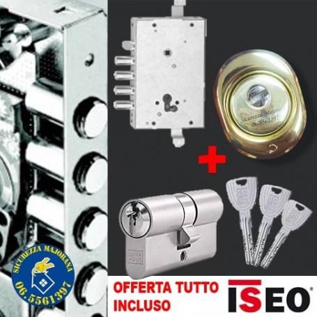 Iseo anti-burglary lock replacement