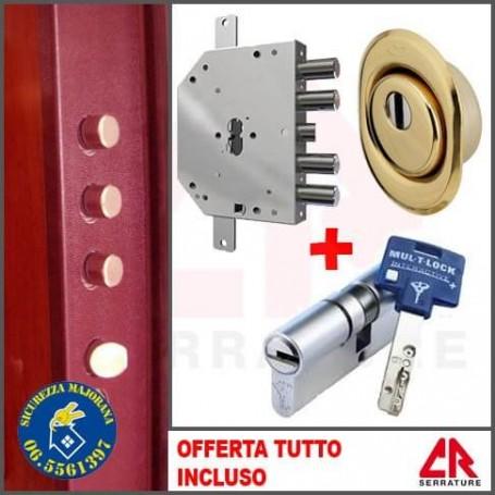 Sostituzione serratura CR antiscasso