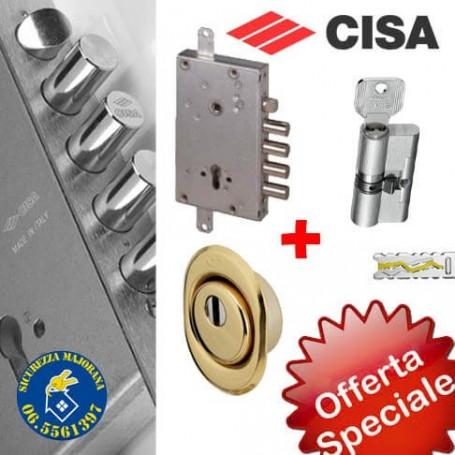 Offerta serratura Cisa antiscasso per porte blindate