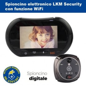 Spioncino per porte LKM Security