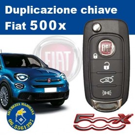 Duplicazione Chiave Fiat 500x