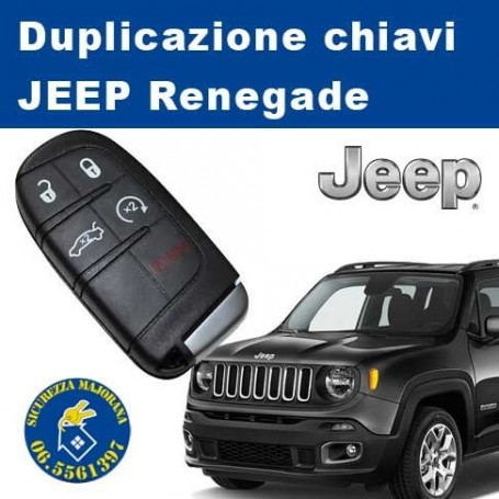 jeep renegade chiave elettronica