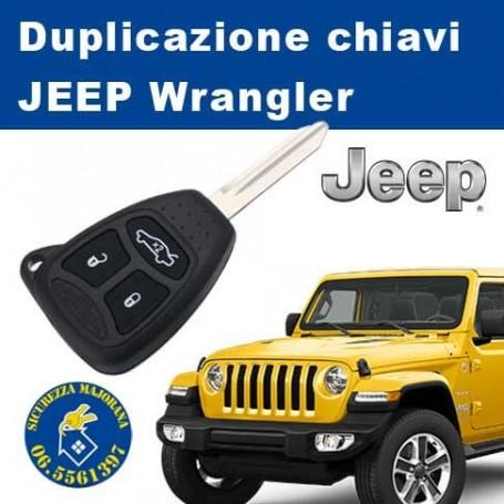 Duplicazione Chiavi Jeep Wrangler