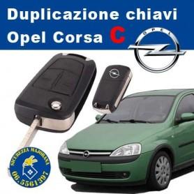Duplicazione Chiavi Opel Corsa C