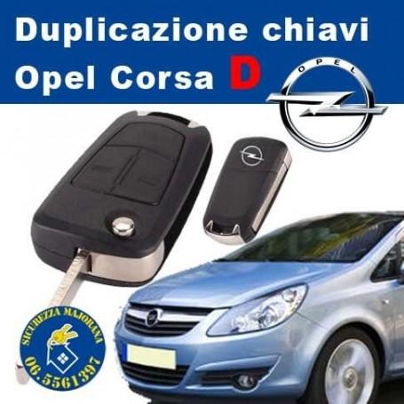 Duplicating Keys Opel Corsa D