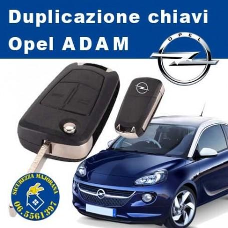 Duplicazione Chiavi Opel Adam