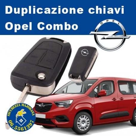 Duplicazione Chiavi Opel Combo