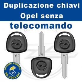 Chiave Opel senza telecomando