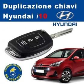 Duplicazione chiavi Hyundai i10 con Telecomando