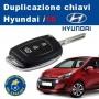 Hyundai i10 key duplication with remote control