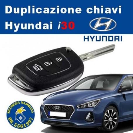 Duplicazione chiavi Hyundai i30 con Telecomando