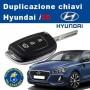 Hyundai i30 key duplication with remote control