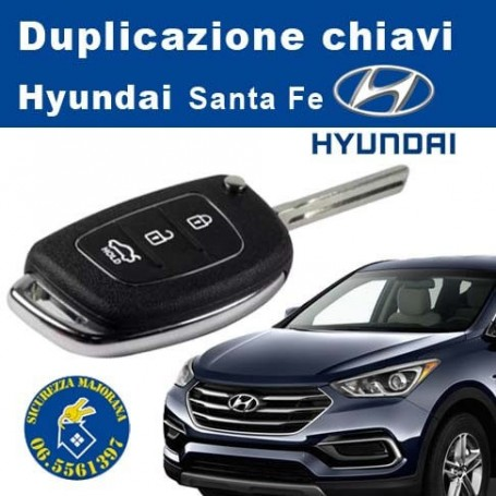 Duplicazione chiavi Hyundai Santa fe