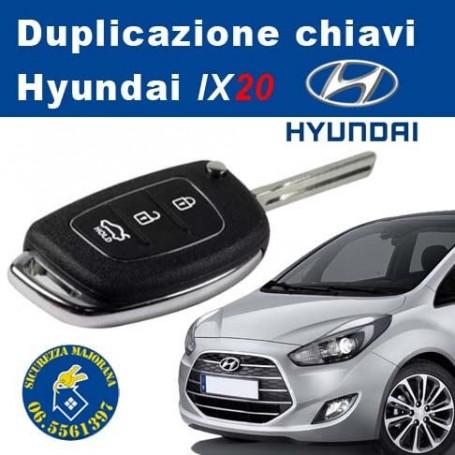 Duplicazione chiavi Hyundai IX20
