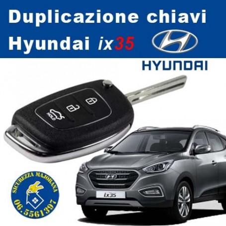 Hyundai ix35 key duplication