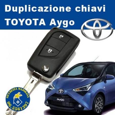 Duplicazione chiavi Toyota Aygo